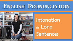 Intonation in Long Sentences