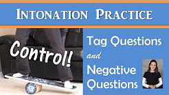 Intonation for Tag Questions &...