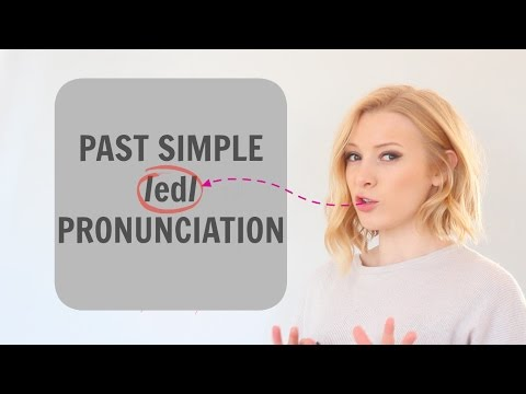 ED Pronunciation - How to...